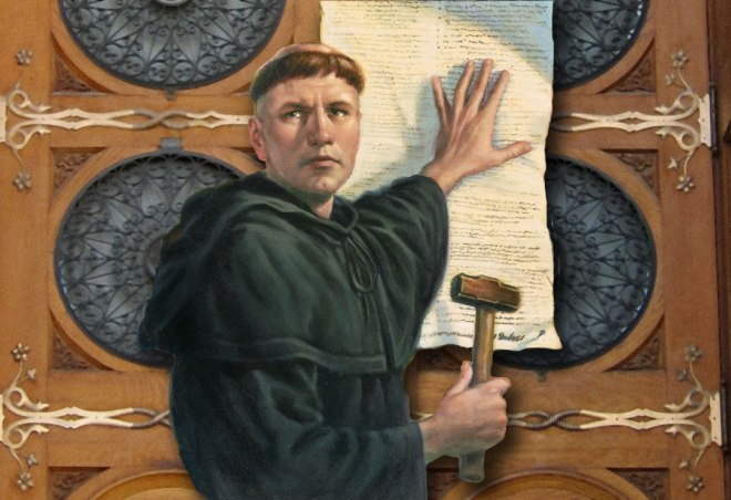 Luther at wittenberg