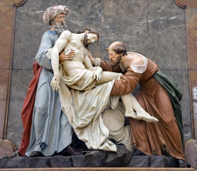 Nicodemus and Joseph