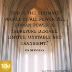 God is the ultimate source of all power