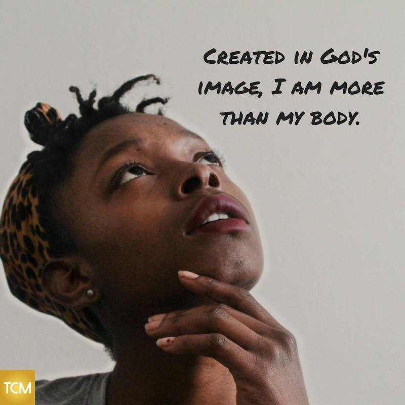 I am more than my body.