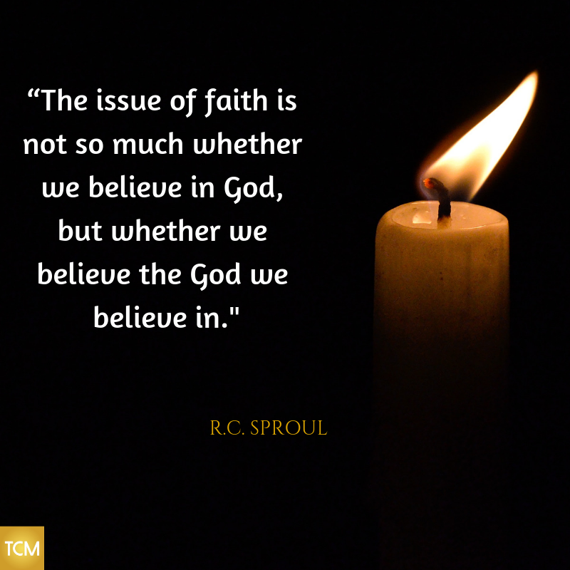The issue of faith